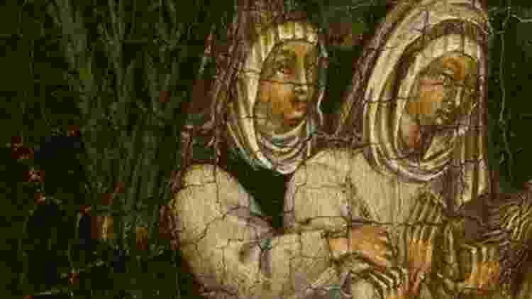 As freiras italianas Benedetta e Bartolomea viveram um caso sexual em um convento da Itália   - Divulgação - Divulgação