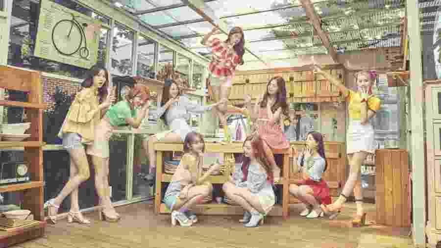 O grupo feminino de k-pop Momoland - Divulgação