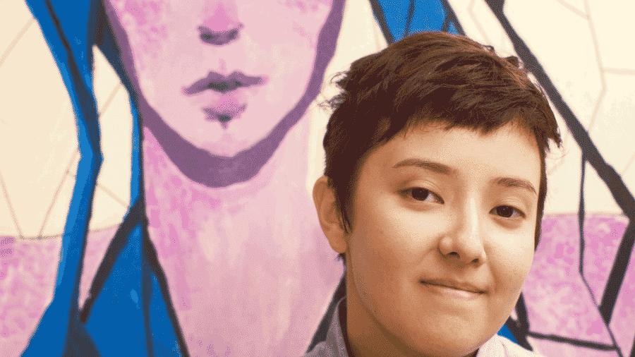Vitorelo, artista não-binária, bissexual e birracial, participa da POC-CON - Arquivo pessoal