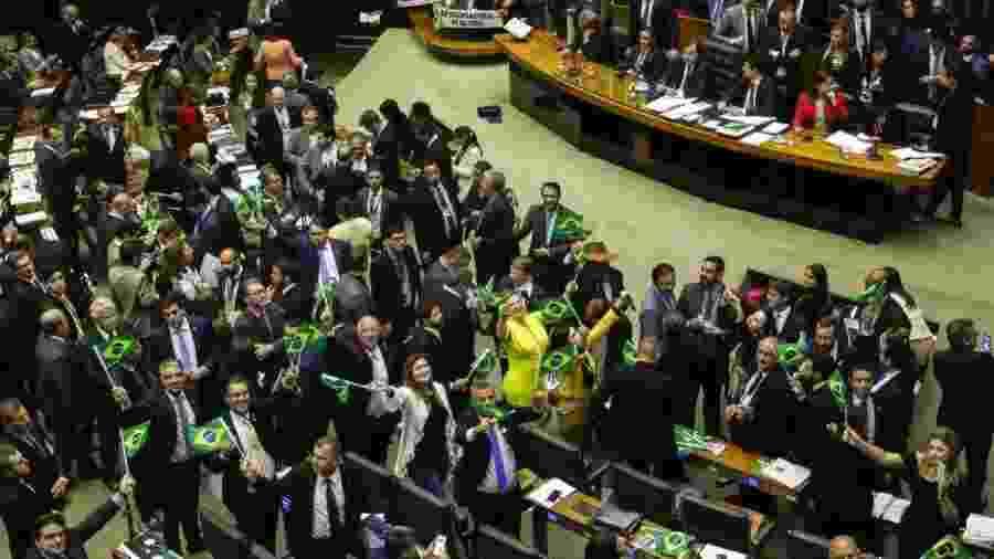 Plenário da Câmara inicia votaçao da reforma da Previdência - Fabio Rodrigues Pozzebom/Agência Brasil