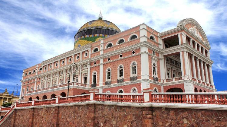Teatro Amazonas, em Manaus - Getty Images