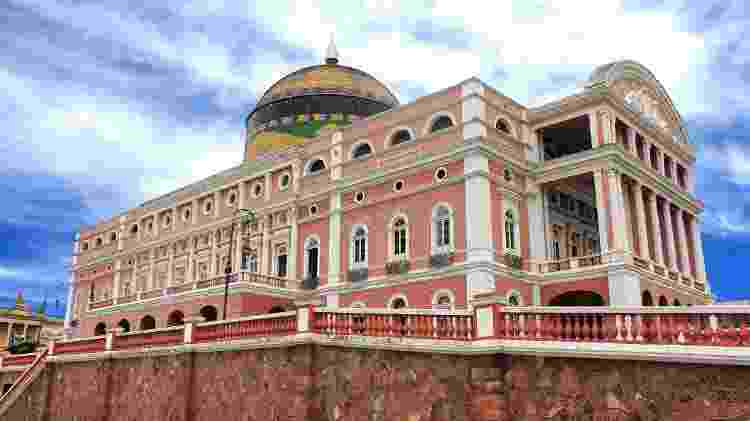 Teatro Amazonas, em Manaus - Getty Images - Getty Images