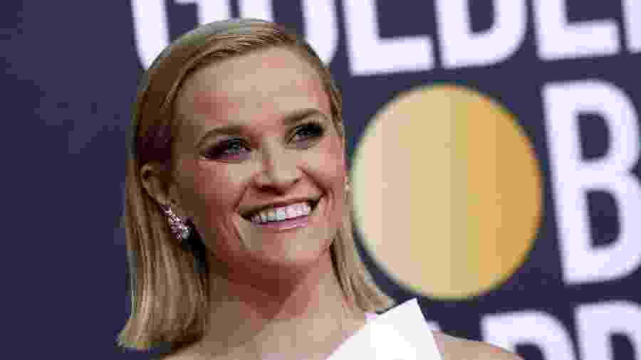 5.jan.2020 - Reese Witherspoon no Globo de Ouro - Mario Anzuoni / Reuters