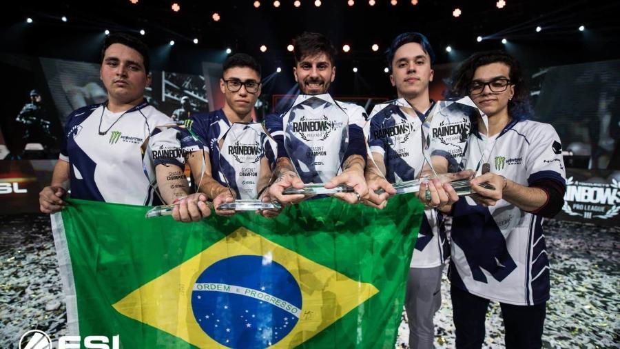 Equipe de Rainbow Six da Team Liquid, uma das principais do cenário mundial - Divulgação/ESL