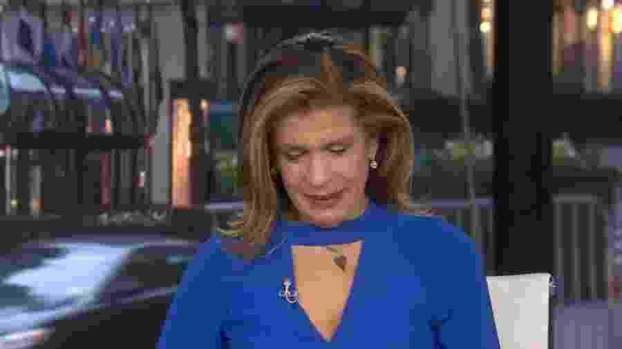 Drew Brees doou US$ 5 milhões a vítimas do novo coronavírus e emocionou Hoda Kobt, da NBC - NBC/Reprodução
