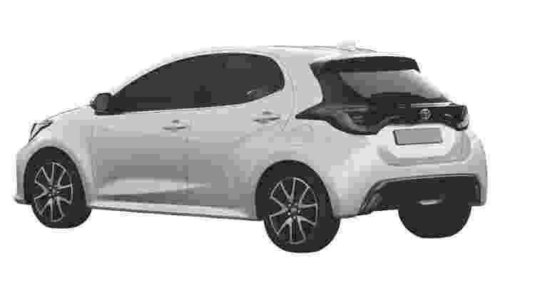 Novo Toyota Yaris europeu 3 - Reprodução - Reprodução