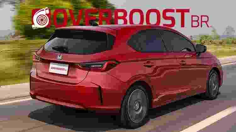 Honda City hatch 3 - Renato Aspromonte/OverboostBR - Renato Aspromonte/OverboostBR