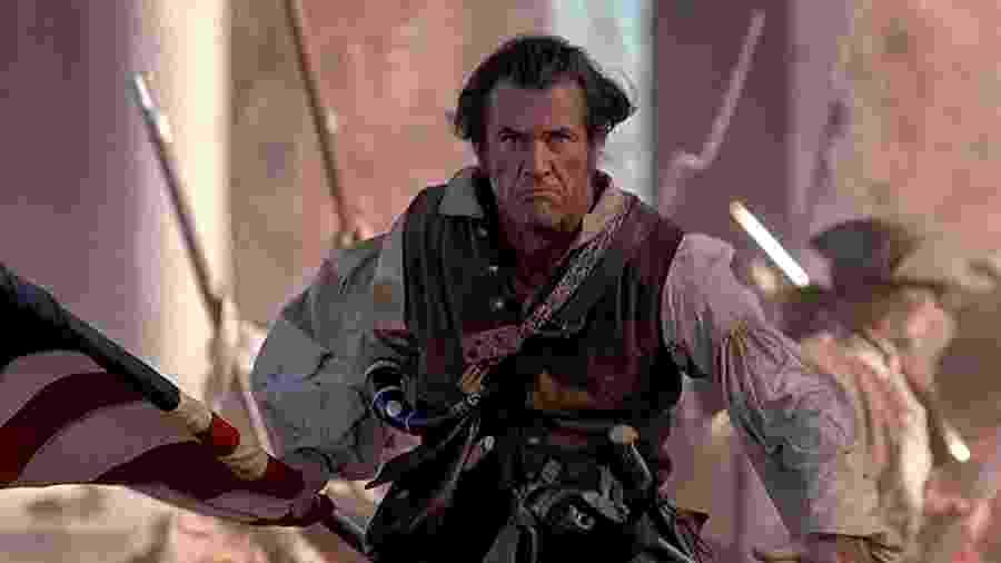 """Mel Gibson como protagonista de """"O Patriota"""", de 2000 - Divulgação"""