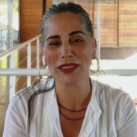 Glória Pires no Conversa com Bial  - Reprodução/vídeo