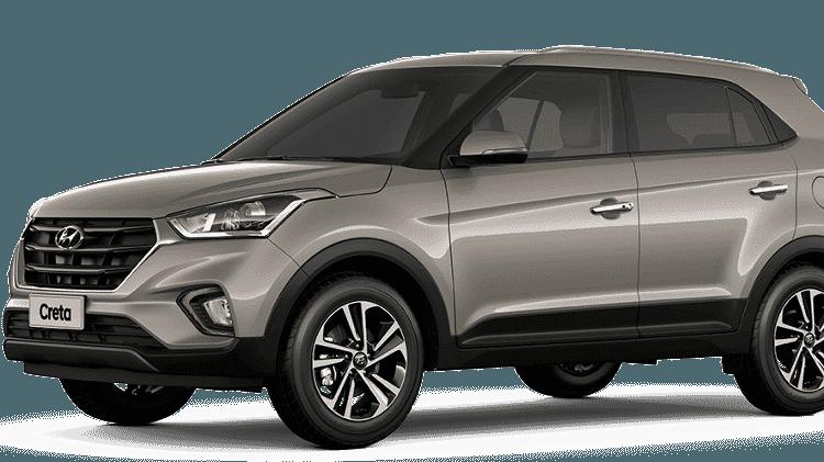 Hyundai Creta Prestige 2021 - Divulgação - Divulgação