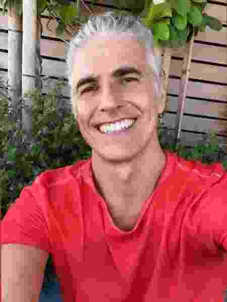 Reynaldo Gianecchini assumiu o cabelo branco na quarentena - Reprodução/Instagram