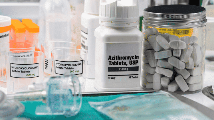 A azitromicina teria utilidade no controle do sistema imunológico, mas estudo de cientistas brasileiros afastou sua eficácia para covid-19 - Getty Images - Getty Images