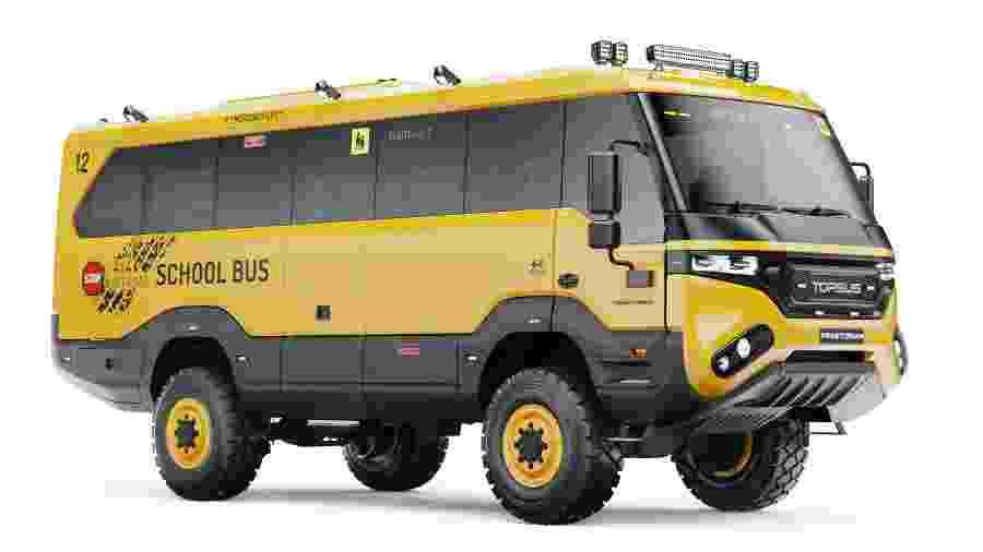 """Torsus Praetorian """"ônibus escolar"""" - Divulgação"""