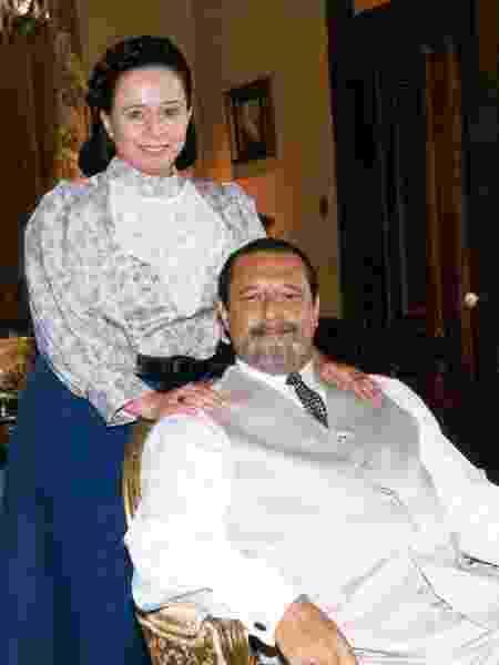 Gumercindo (Antônio Fagundes) e Maria do Socorro (Débora Duarte) - Divulgação/Globo - Divulgação/Globo