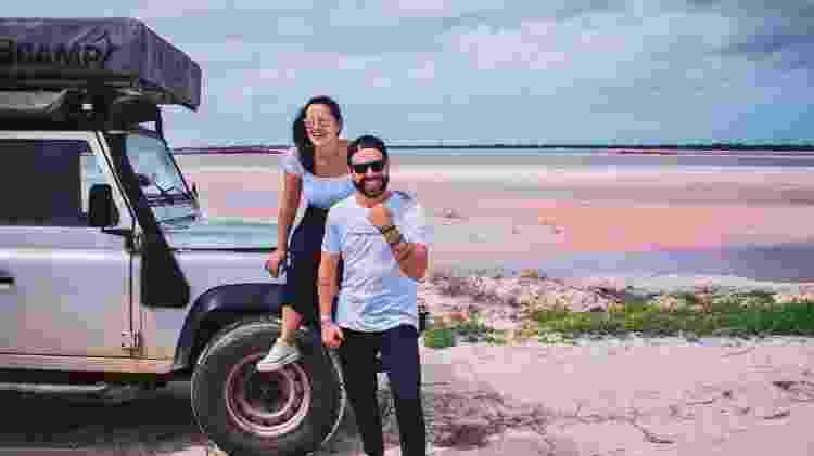 Leonardo Tomasi e Alessandra Kugnharski - Arquivo pessoal - Arquivo pessoal