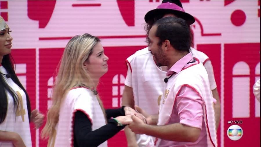 BBB 21: Viih Tube parabeniza Gil após brother vencer prova do líder - Reprodução/ Globoplay