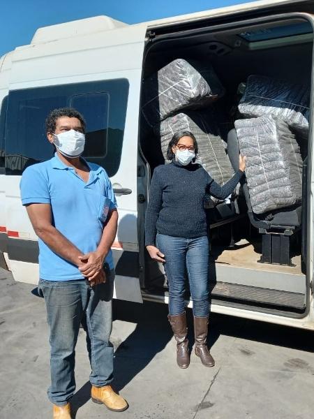 Rede de varejo transforma uniformes sem uso em cobertores para doação no Brasil - Divulgação
