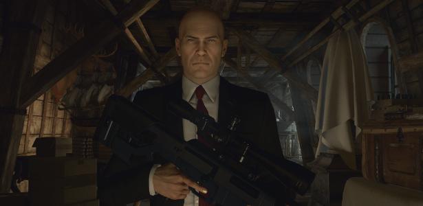 O Agente 47 retorna em uma aventura que remete aos primórdios da série; game ganhará novo conteúdo regularmente - Divulgação