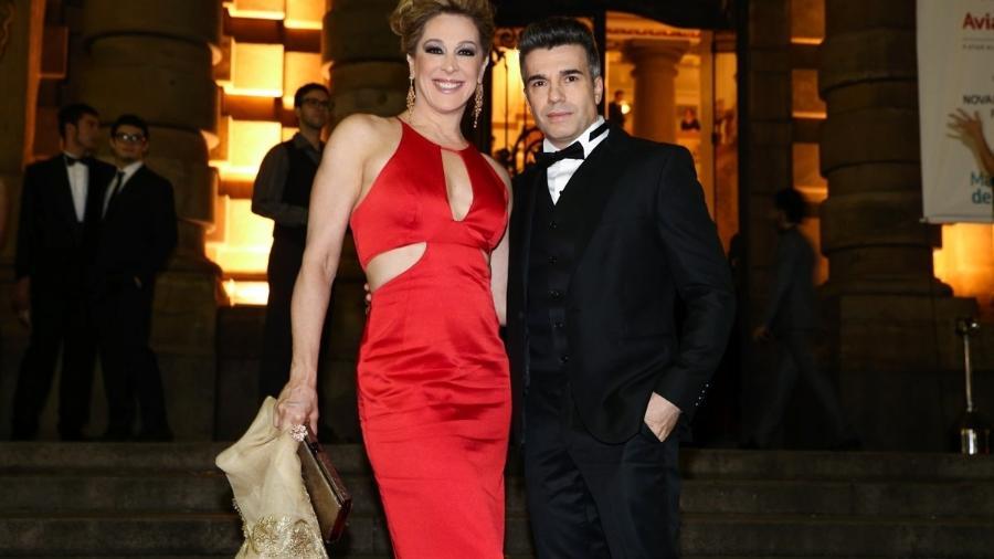 Claudia Raia e o marido, Jarbas Homem de Mello - Marcos Ribas e Manuela Scarpa/Photo Rio News