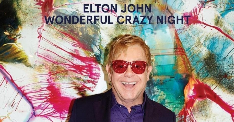 Capa do novo disco de Elton John,