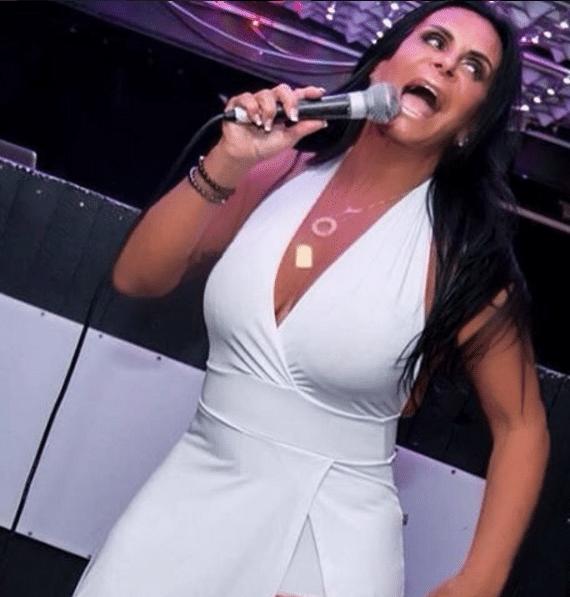 04.ago.2016 - Gretchen se apresenta em Dublin, na Irlanda