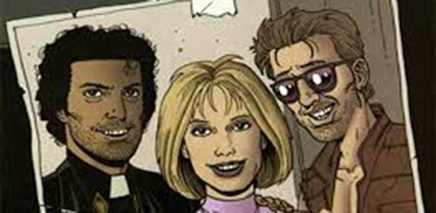 """Arte de """"Preacher"""" criada por Steve Dillon - DC/Divulgação"""