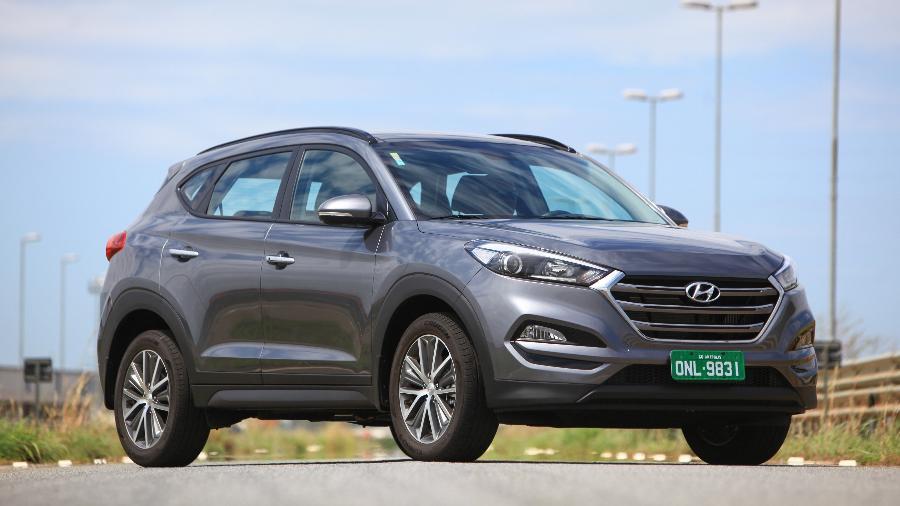 """Hyundai """"All New"""" Tucson: terceira geração vai ser feita ao lado da primeira... juntas - Divulgação"""