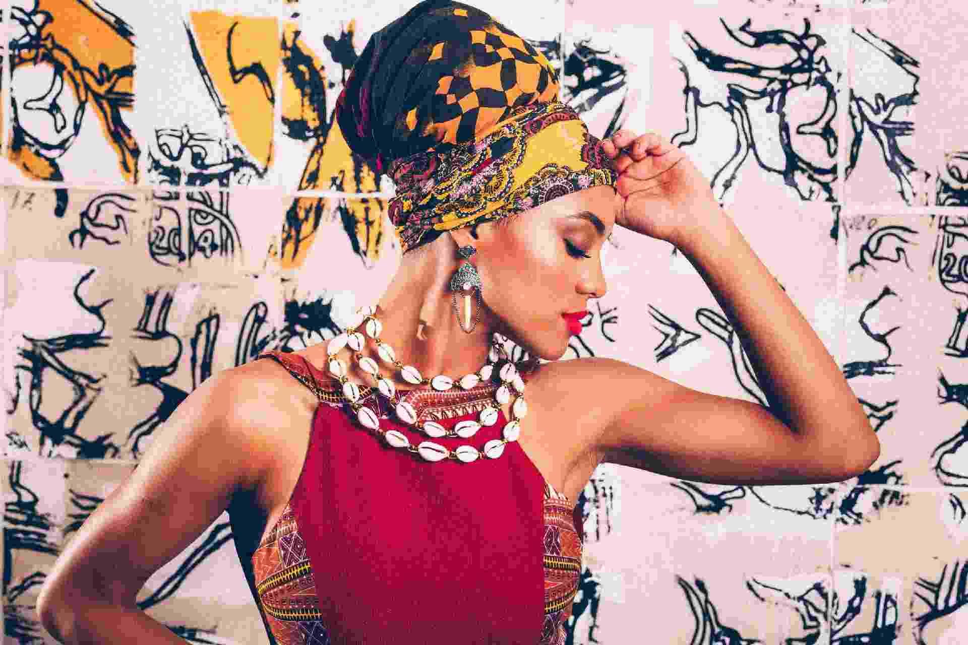 Editorial moda afro com a Miss Brasil Raissa Santana - Elegância afro - Gabriel Quintão/UOL