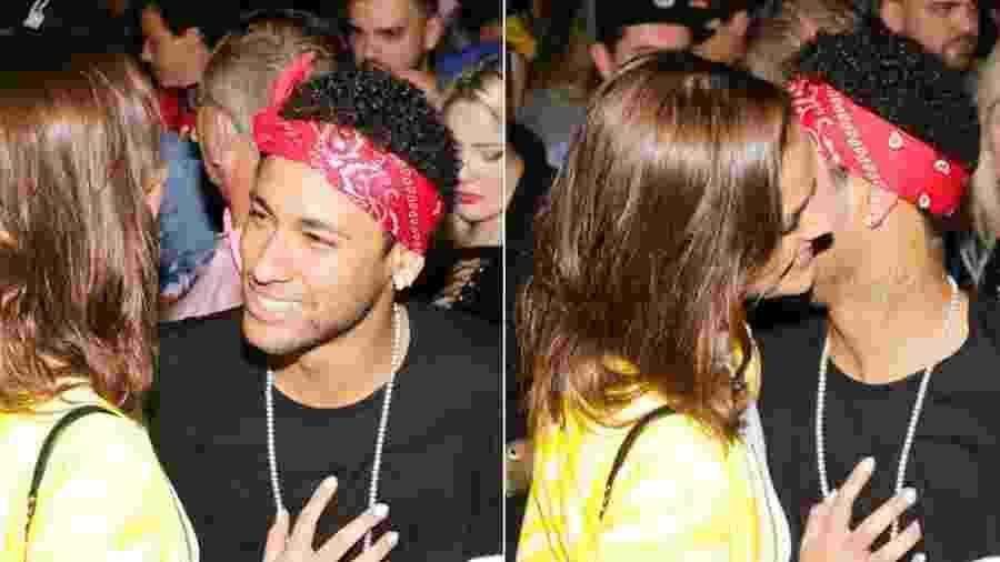Bruna Marquezine e Neymar curtem festa após vitória do Brasil no Itaquerão - Claudio Augusto/Brazil News