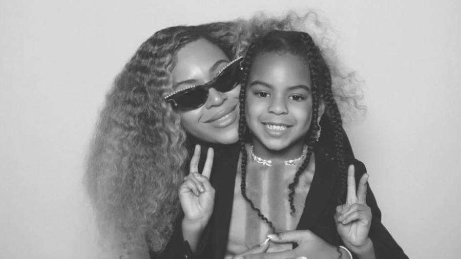 Beyoncé e Blue Ivy - Reprodução/Instagram