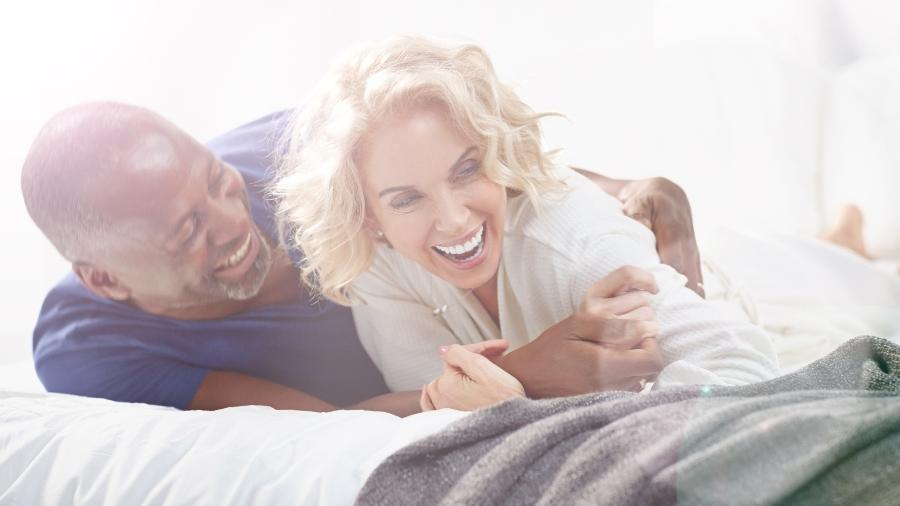Em um relacionamento cheio de mágoas, não será a reposição hormonal que trará a libido de volta - Getty Images