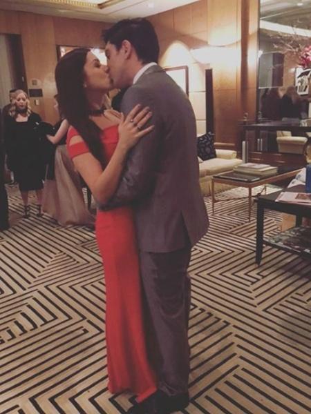 Marcelo Adnet e Patrícia Cardoso se beijam em hotel  - Reprodução/Instagram