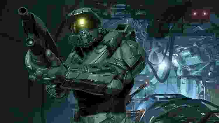 Já está na hora de Master Chief voltar - o Spartan mais famoso do Xbox deve dar as caras na E3 deste ano! - Divulgação