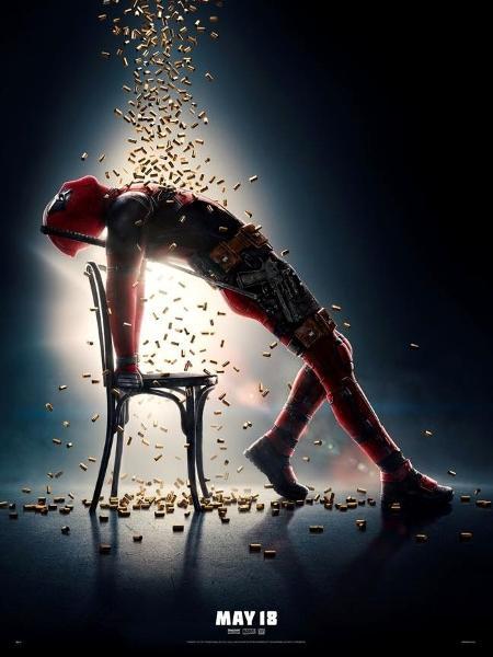Pôster de Deadpool 2 - Reprodução