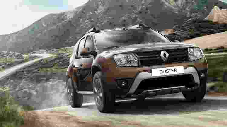 Renault Duster 2.0 4x4 - Divulgação - Divulgação