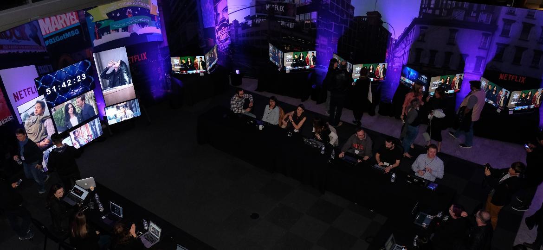 """Netflix montou uma """"sala de guerra"""" na sua sede em Los Gatos (EUA) para a acompanhar o lançamento mundial de """"Jessica Jones"""" - Divulgação/Netflix"""