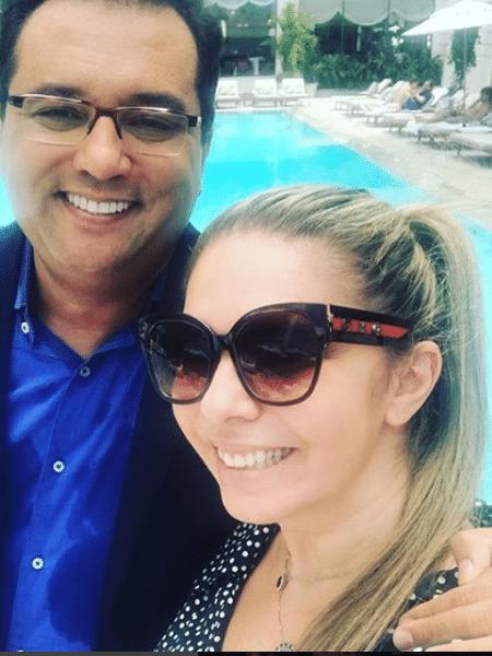 Geraldo Luis e Luciana Lacerda - Reprodução/Instagram