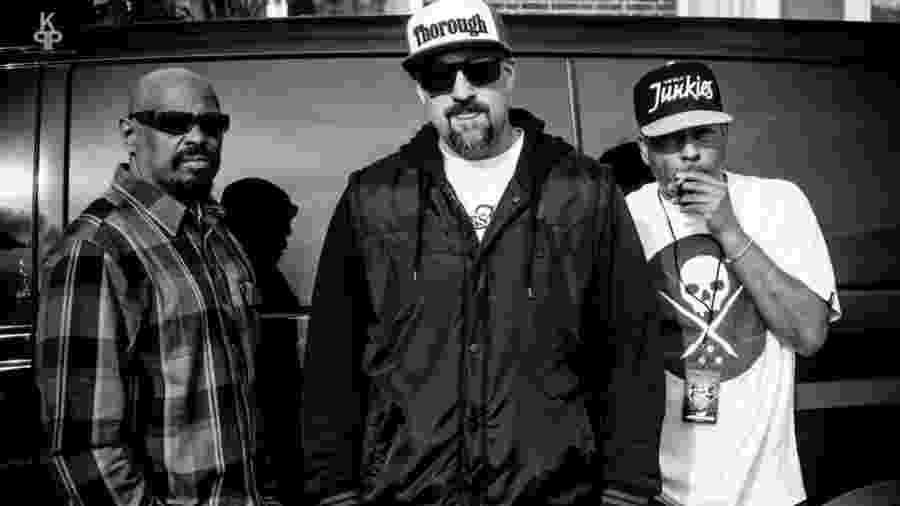 O grupo de hip-hop Cypress Hill  - Divulgação