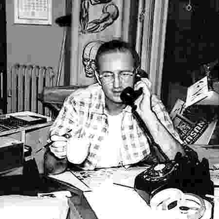 Steve Ditko, co-criador de Homem-Aranha, em foto de 1960  - Reprodução/Comic Book Historians