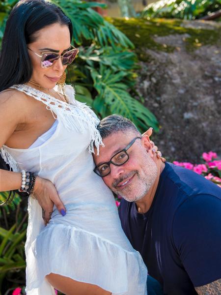 Fabi e Alexandre Frota esperam o primeiro filho do casal - Caio Duran/Divulgação