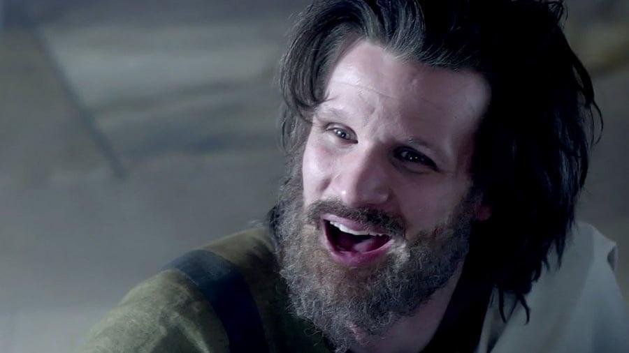 Matt Smith como Charles Manson - Divulgação