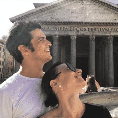 Mateus Solano e Paula Braun na Itália - Reprodução/Instagram
