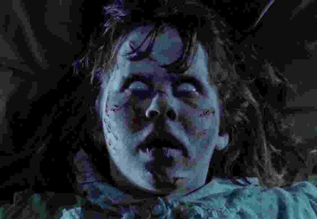 """Linda Blair em """"O Exorcista"""" (1973) - Divulgação"""
