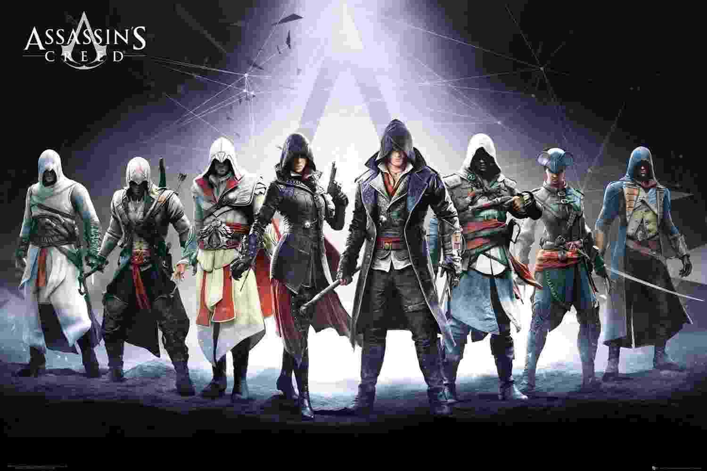 Assassin's Creed - Personagens - Reprodução