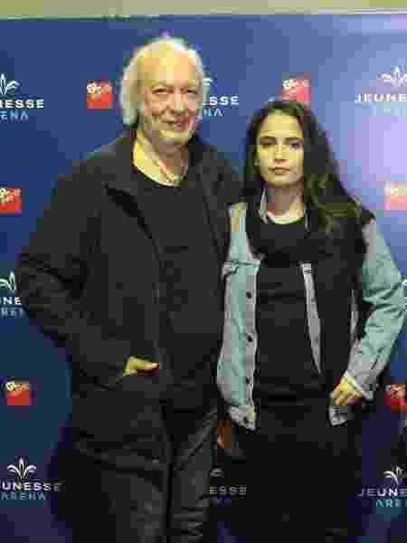 Erasmo Carlos com a esposa Fernanda Passos - Divulgação/Reginaldo Teixeira