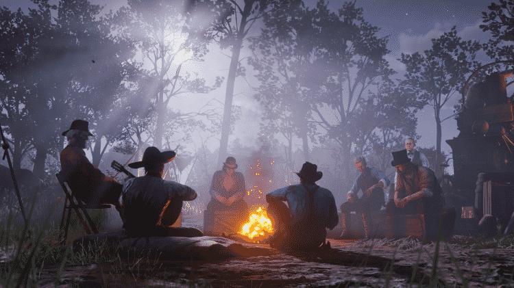 gangue Red Dead Redemption 2 - Reprodução - Reprodução