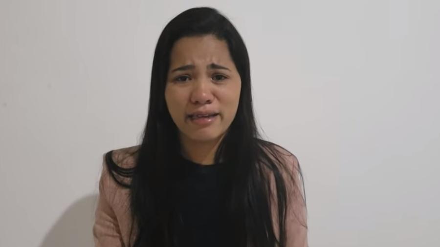 Stefhany Absoluta faz vídeo para rebater as acusações do ex-marido e se emociona - Reprodução/Youtube