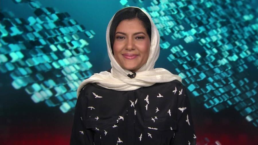 Reema bint Bandar bin Sultan bin Abdulaziz Al Saud - Reprodução/CNN