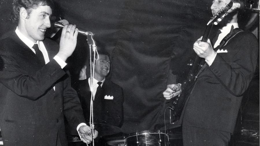 Doug Sandom, baterista original do The Who - Reprodução