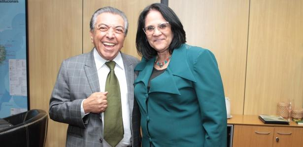Em Brasília | Mauricio faz reunião com Damares sobre projetos infantis